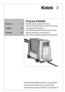 ProLine P 52000 Railway Transducer | KNICK