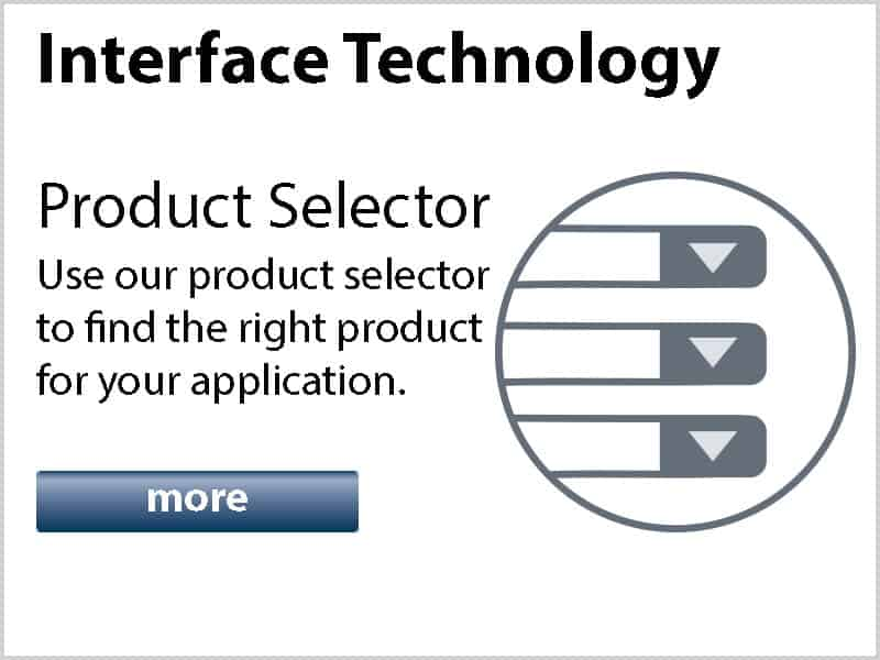 Interface Technology Product Selector logo