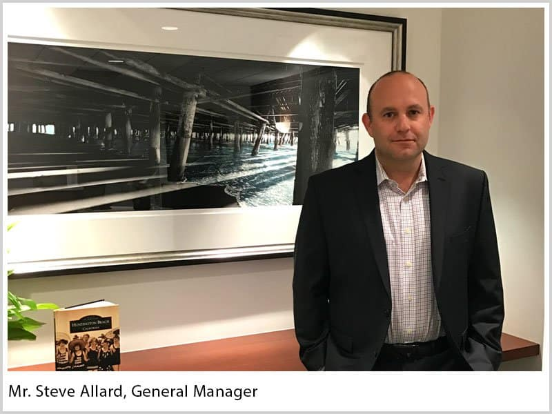 Steve Allard, General Manager of Knick Interface LLC