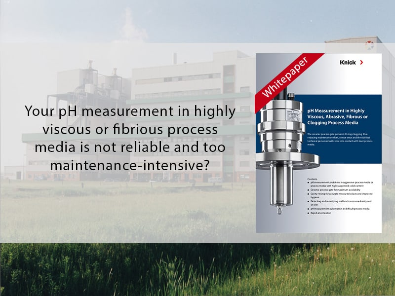 photo montage for white paper on pH measurement
