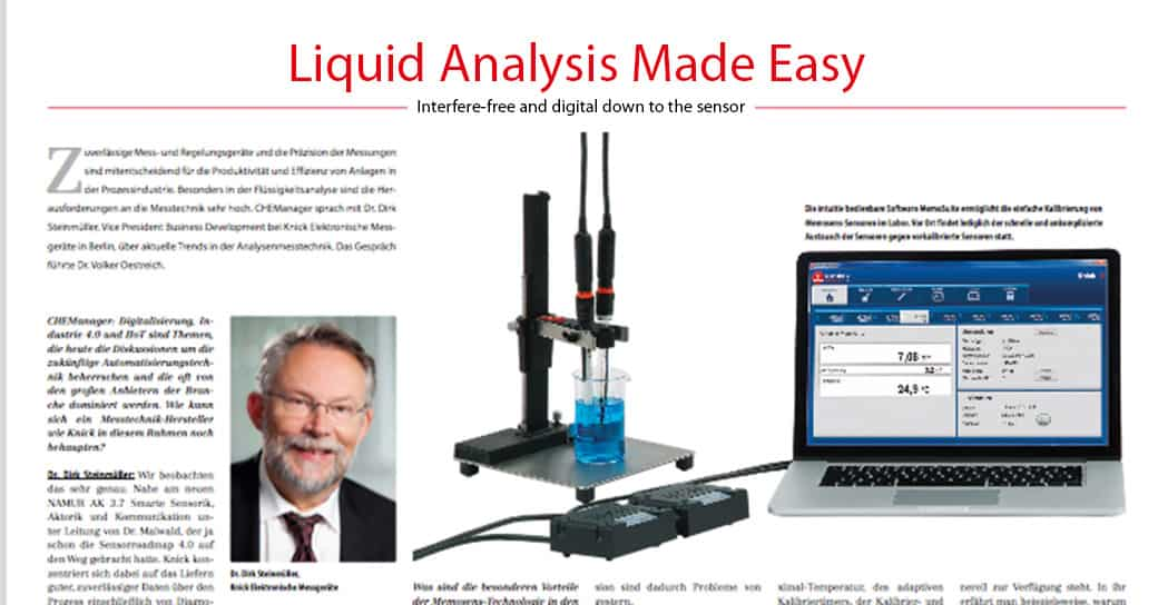 Liquid Analysis made easy article