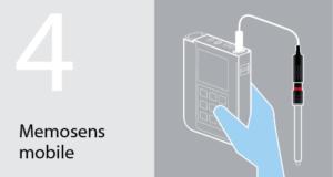 Memosens Advantage for mobile diagnostics
